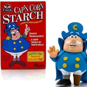 """CAP'N CORN STARCH 3"""" Figurine"""